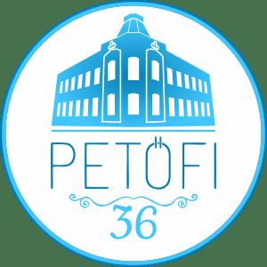 Petőfi36 Kék ház logó